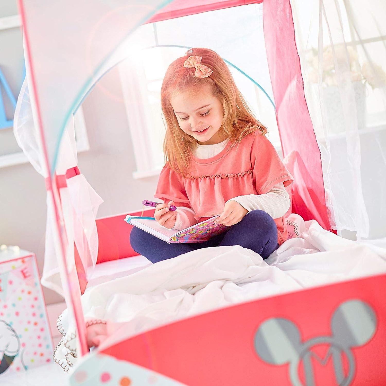 Minnie Mouse Campervan Kinderbett mit Deluxe Schaummatratze