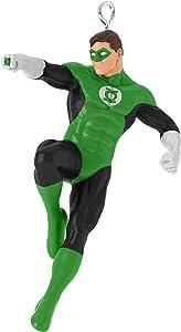 "Hallmark Keepsake Mini Christmas Ornament 2019 Year Dated DC Comics Justice League Green Lantern Miniature, 1.51"""