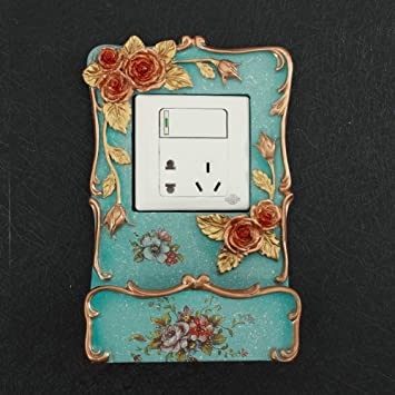 Amazoncom Qtqzdf European Switch Stickerscreative Wall Stickers - Vinyl-decals-to-decorate-light-switches-and-outlets