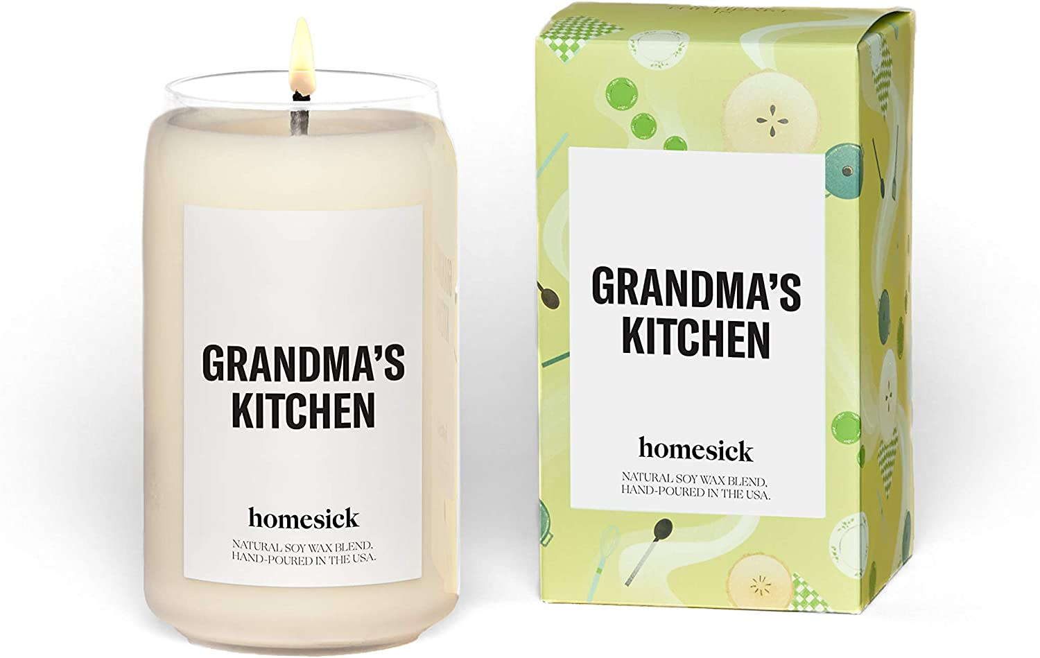 Homesick Scented Candle, Grandma's Kitchen (2020 Version)