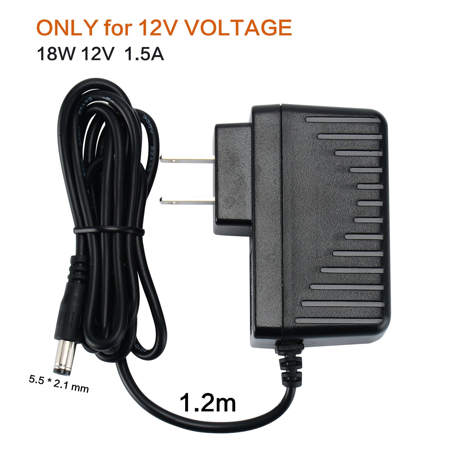 Geeon 18w Universal Ac Adapter 12v Dc 15a Regulated 13 V Mini Power Supply Circuit Switching With 12 Replacement Tips Ul Listed Only For Volt Home