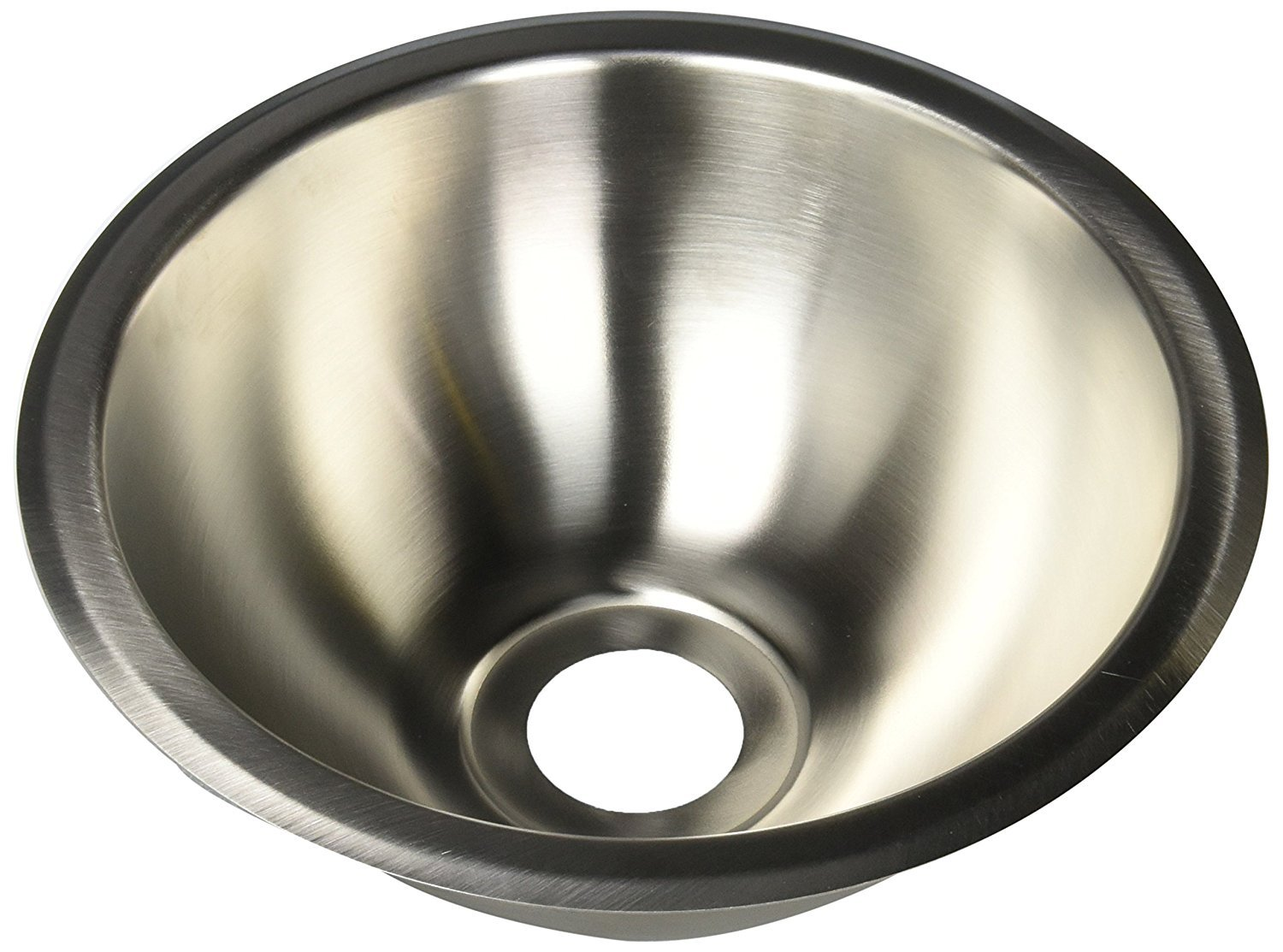 """Heng's (SSRD1322) 13"""" Round Stainless Steel Sink"""