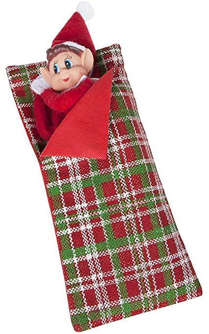 amazon com vip elf sleeping bag with pillow vip elf for christmas