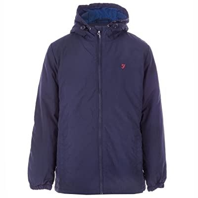 FARAH Boy's Nylon Windcheater Jacket 3-4 Blue