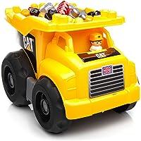 MEGA Bloks - Cat Super camión volquete (Mattel