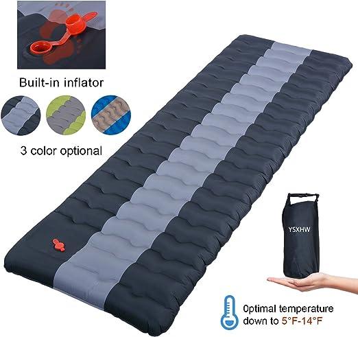 Amazon.com: YSXHW - Almohadillas autoinflables para acampada ...