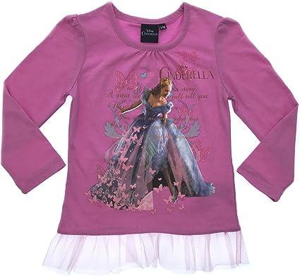 Disney Frozen Long-Sleeved Shirt with Glitter Size 110 116 122 128 134