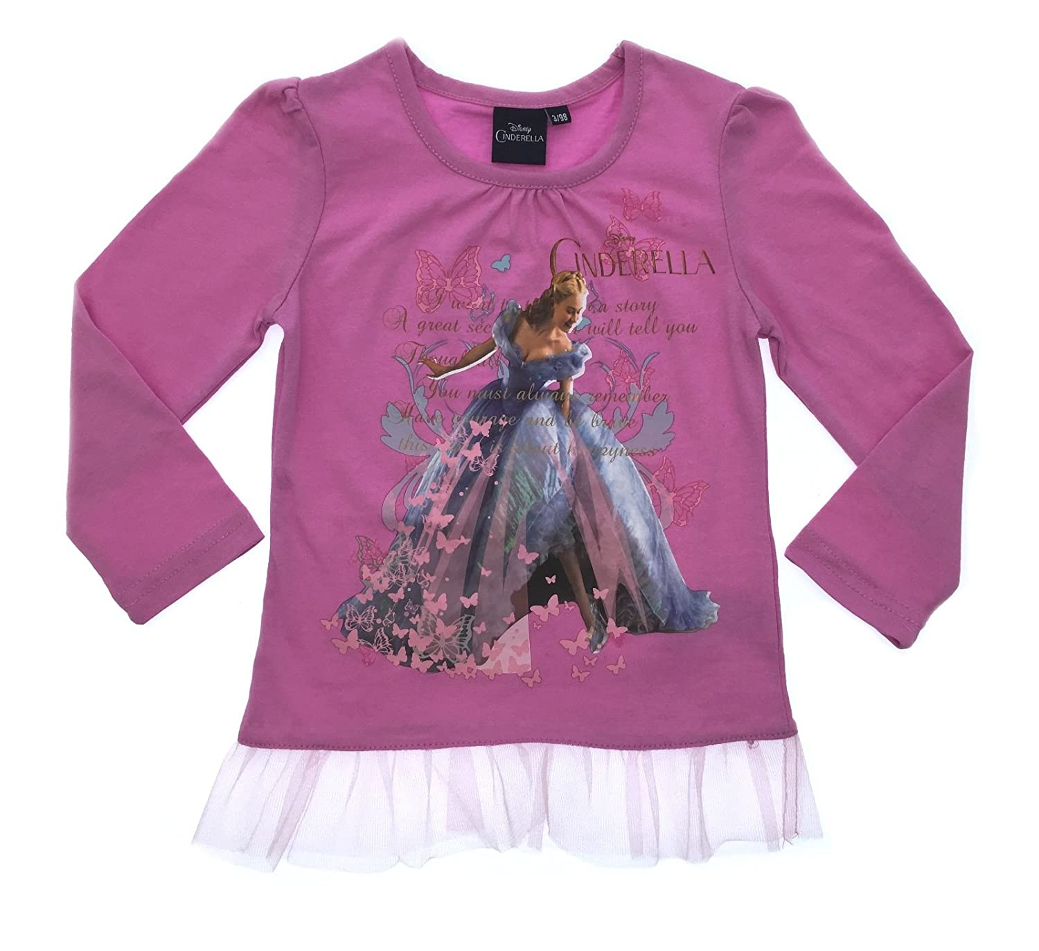 Disney Girls Princess Long Sleeve Top