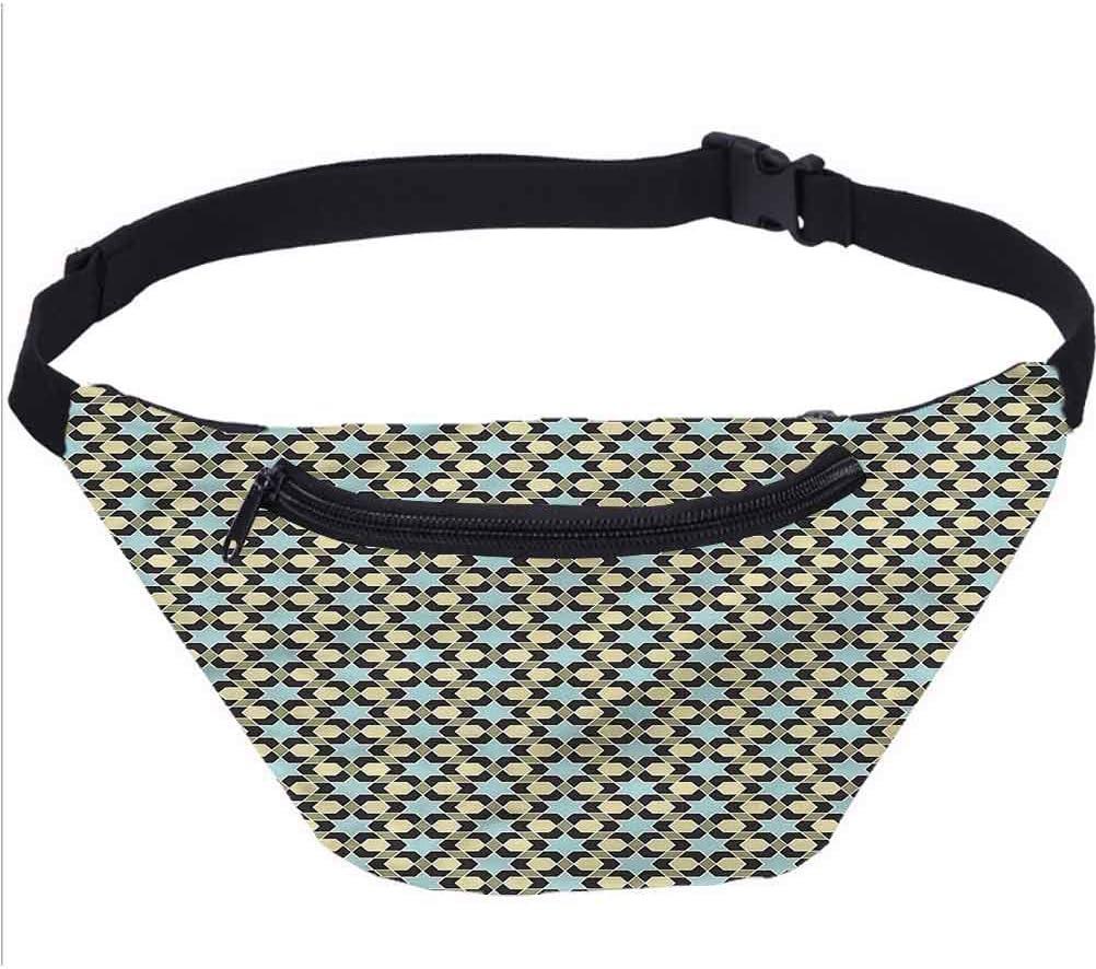 Bolsa de viaje árabe, diseño floral con estrellas, correr, viajes, deportes, para hombres y mujeres