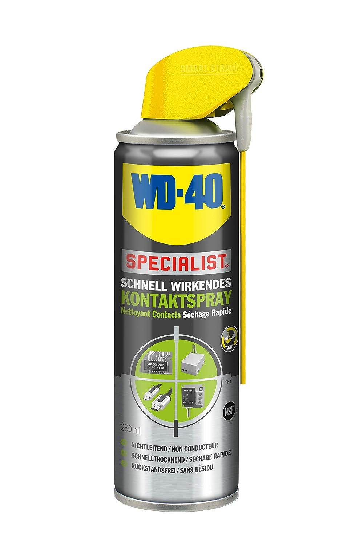 WD-40 Specialist 56716 Kontaktspray 250ml Smart Straw, 1) WD-40 Company