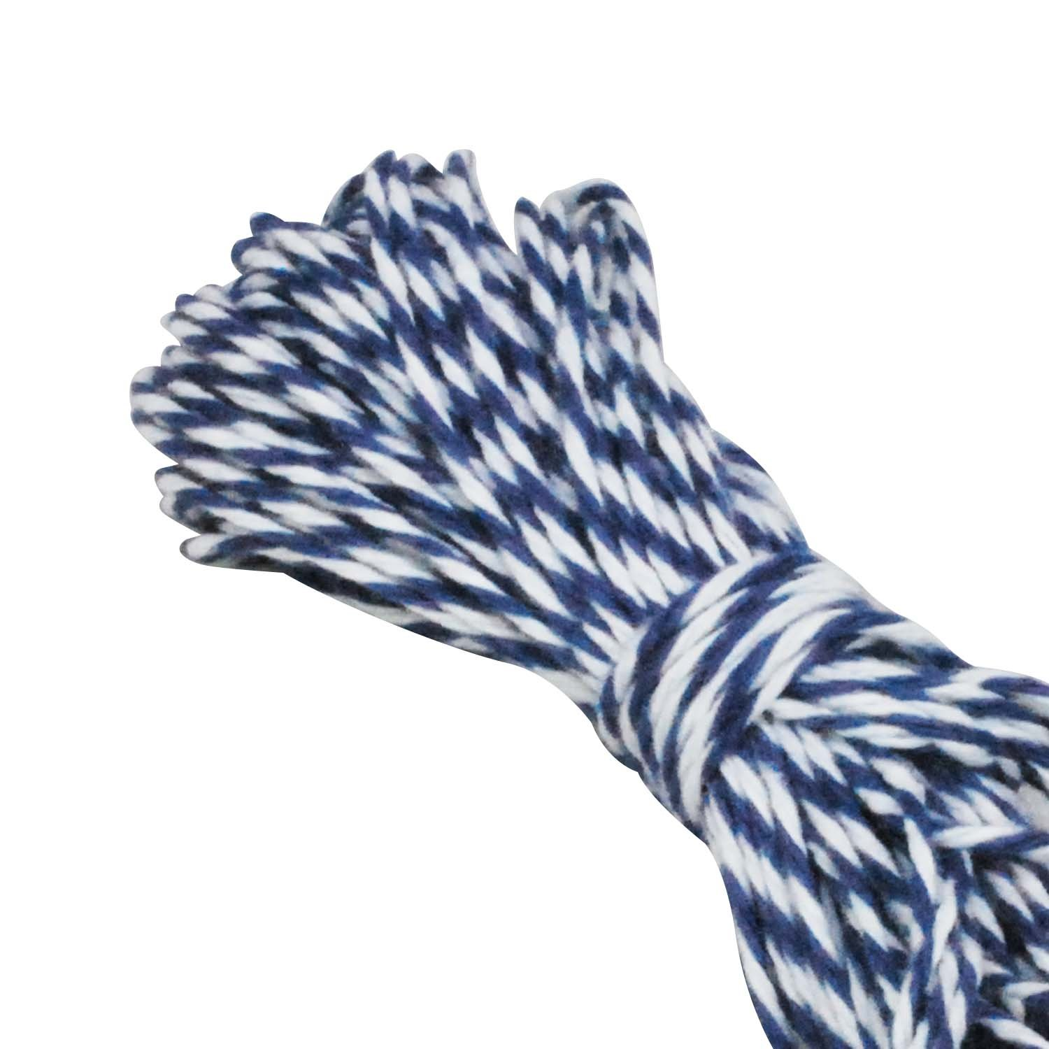 Dress My Cupcake Baker's Twine String Roll for Gifts and Favors, 15-Yard, Navy Blue
