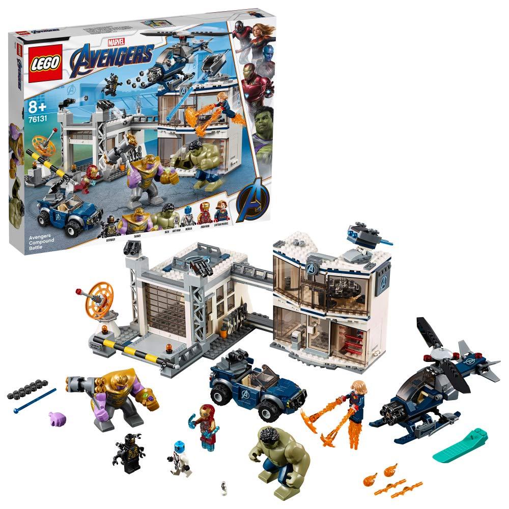レゴ(LEGO) スーパーヒーローズ  アベンジャーズコンパウンドでの戦い 76131   B07FP6ZWPB