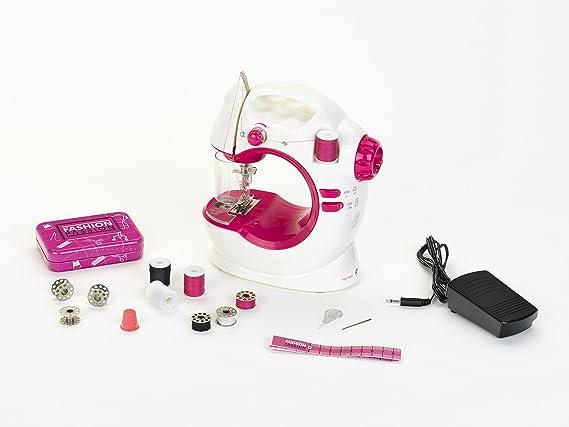 Theo Klein-7925 Máquina De Coser para Niños-Funcionando con Pilas, Juguete, Multicolor (7925): Amazon.es: Juguetes y juegos
