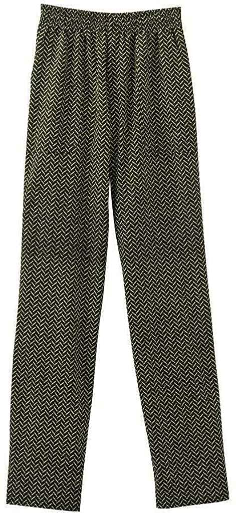 Lime Zest X-Large Five Star White Swan Chef Apparel Ladies Pull On Drawstring-Elastic Pant (Assorted)