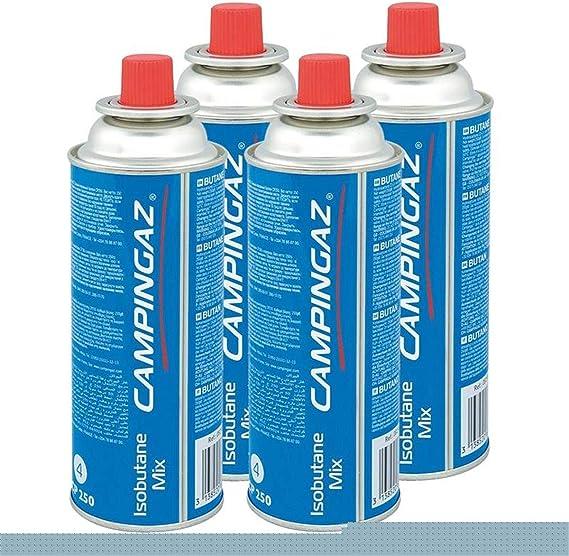 Campingaz Válvula de gas cartucho CP 250 – 450 ml isobutane Mix (4 unidades)