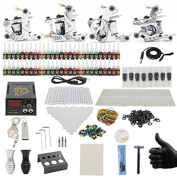 Amazon.com: Tattoo Kits - Yuelong TK-3005 Hot Sale Tattoo Kits Set ...