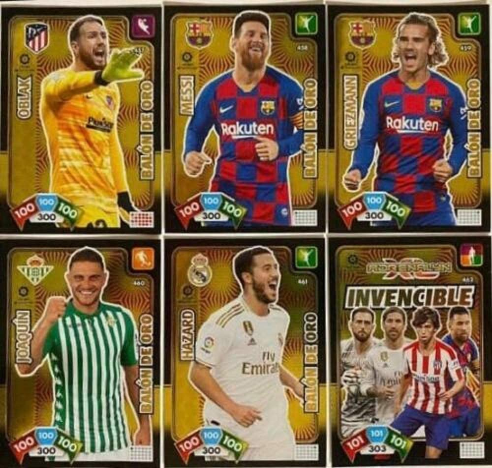 Lote de 5 Balones de ORO + la Card Invencible - Adrenalyn XL 2019 ...