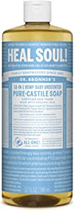 Dr. Bronner's Organic Liquid Soaps Baby Mild at Least 70% Organic, 32 Ounces
