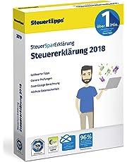SteuerSparErklärung 2019, Schritt-für-Schritt Steuersoftware für die Steuererklärung 2018, Steuer CD-Rom für Windows 10, 8, 7