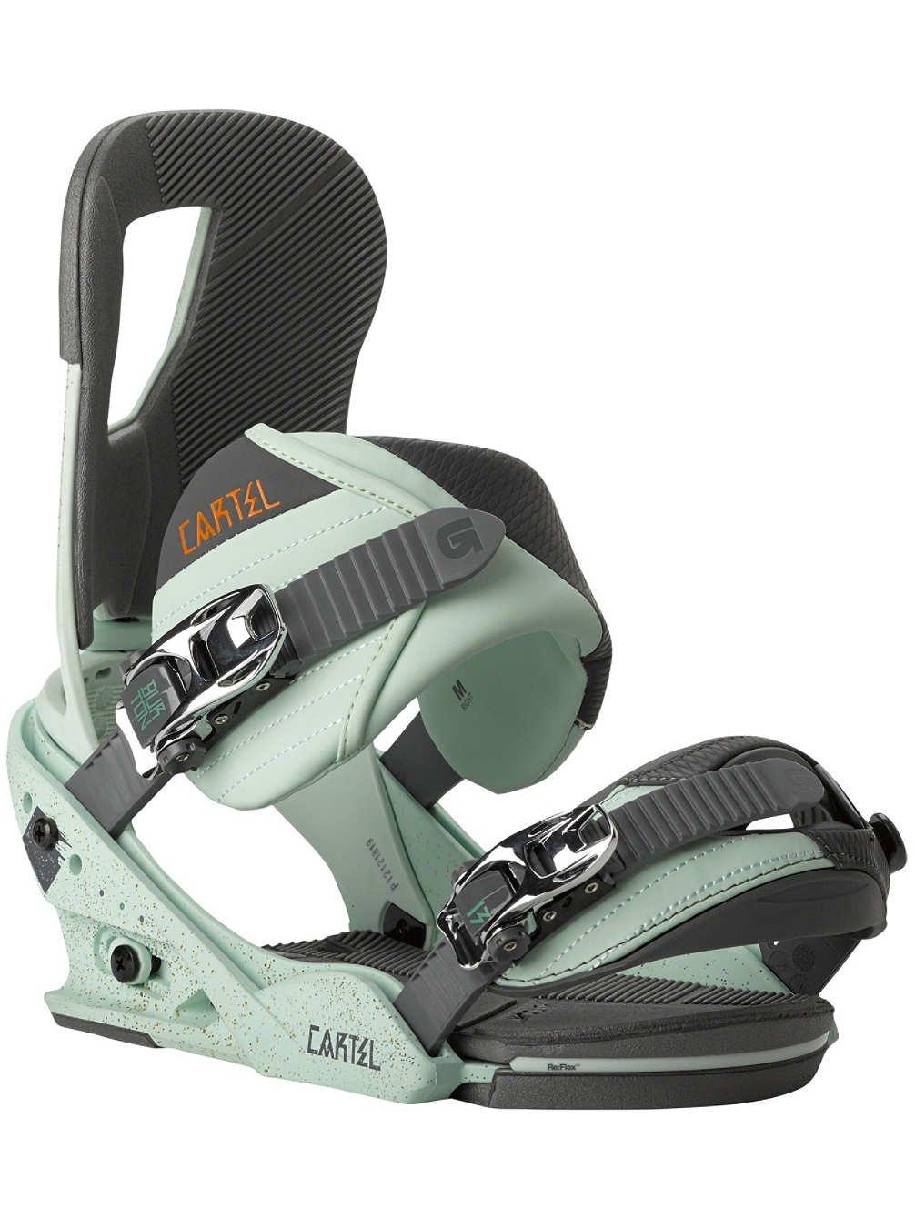 Burton Cartel - Fijaciones de snowboard para hombre ...