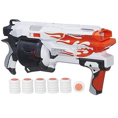 NERF Vortex Revonix 360 Blaster: Toys & Games