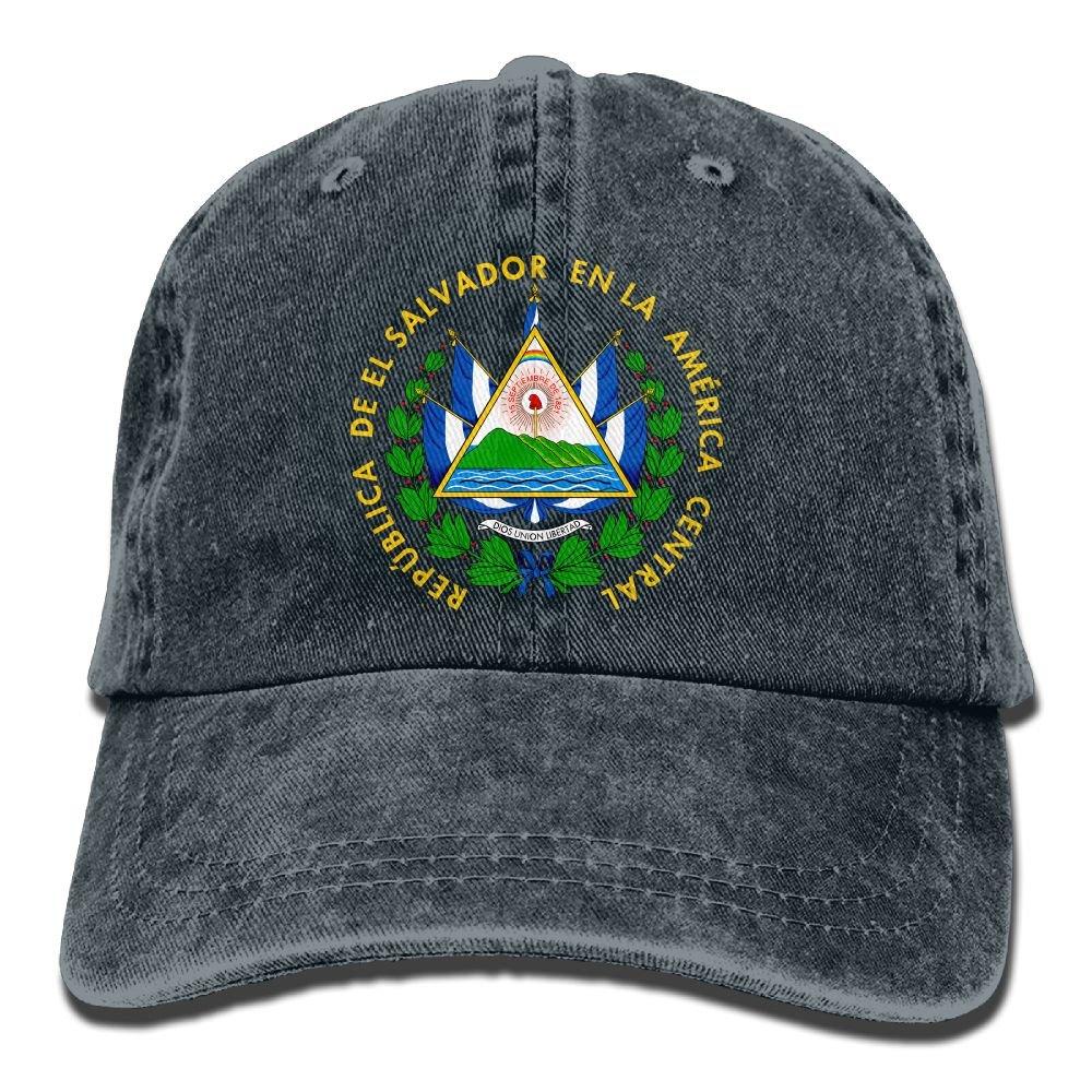 Unisex Retro Washed Dyed Cotton Adjustable Jean Cap Dad Trucker Hat