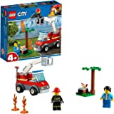 LEGO City Fire Barbecue Burn Out Truck Toy, Multi-Colour