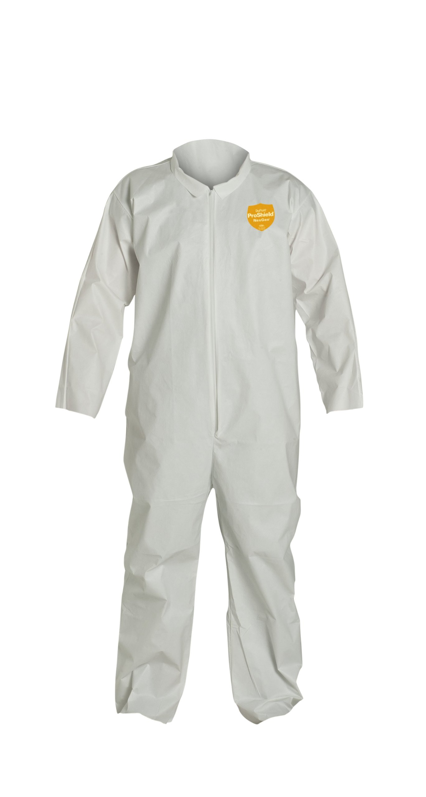 DuPont ProShield Disposable Protective Coverall with Open Cuff White 2X-Large 25-Pack