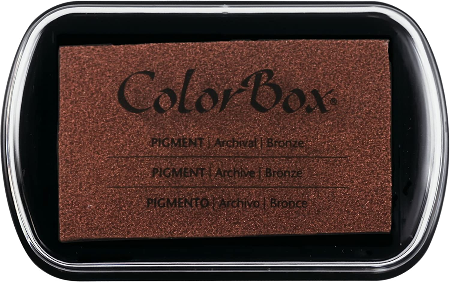 ColorBox 19095 Mystical Pigment Metallic Inkpad, 4' x 2.5' 4 x 2.5 Clearsnap