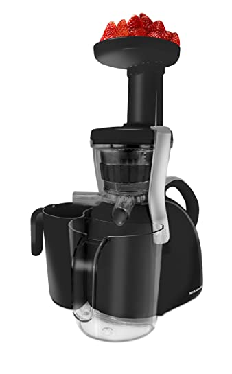 Big Boss 9176 Nutritionally Beneficial Slow Juicer, Black