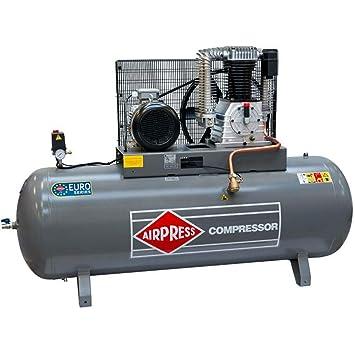 Airpress® HK 1500-500 - Compresor de aire comprimido (7,5 kW ...