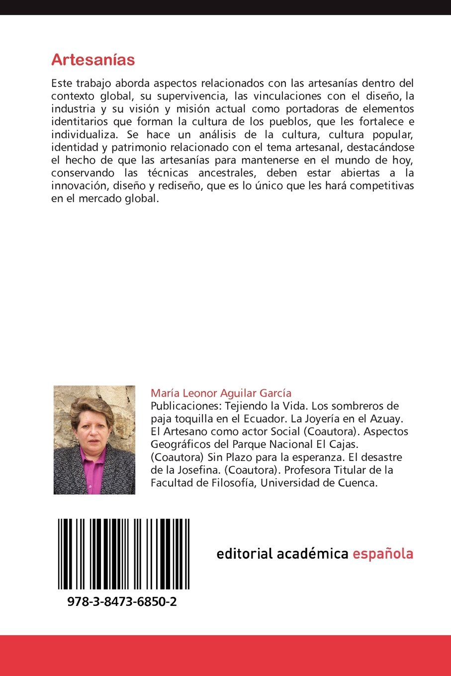 Amazon.com: Artesanías: en el Contexto Global (Spanish Edition) (9783847368502): María Leonor Aguilar García: Books