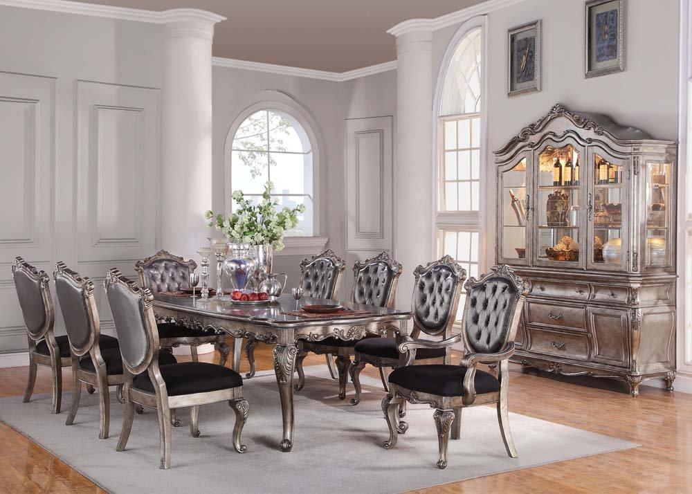 Amazon.com: Inland Empire Furniture Chantelle 9 Piece Dining ...