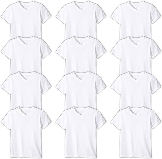 Shirt Tank Top Undershirts Andrew Scott Basics Boys 12 Pack Color A