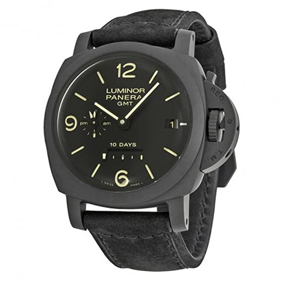 PANERAI LUMINOR 1950 RELOJ DE HOMBRE AUTOMÁTICO 44MM CORREA DE CUERO PAM00335: Amazon.es: Relojes
