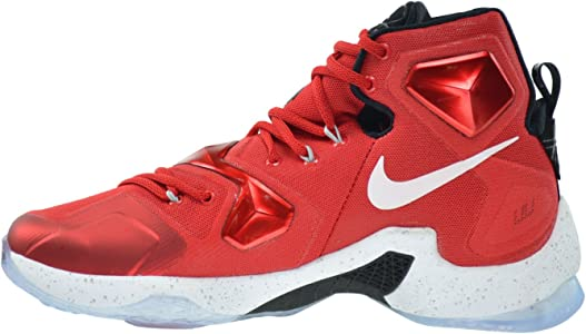 premium selection 7f9fb 64202 Lebron XIII Men s Shoes University Red White-Black-Laser Orange 807219-610  (11 D(M) US). Nike Lebron XIII Men s Shoes University Red White-Black-Laser  ...