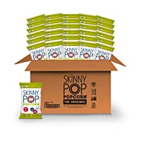 SkinnyPop Original Popped Popcorn, 100 Calorie Individual Bags, Gluten-free Popcorn...