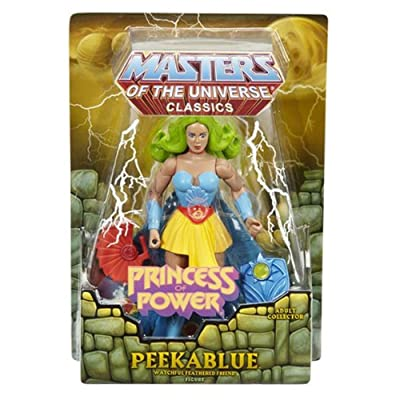 Masters of the Universe Classics Princess of Power Peekablue Action Figure: Toys & Games