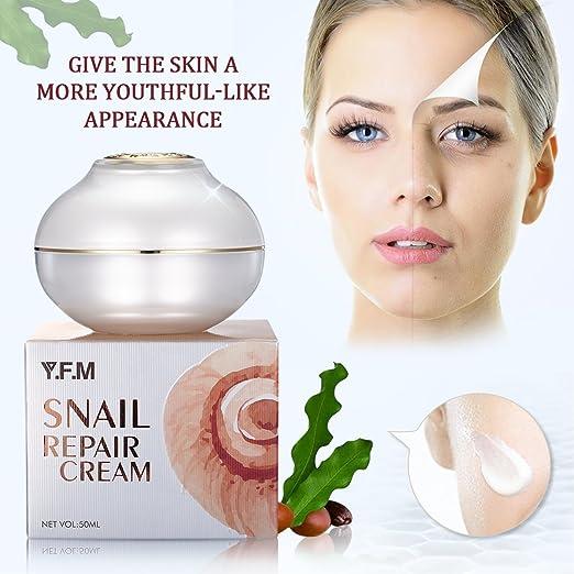 Crema hidratante y nutritiva facial para día y noche - Reafirmante, Nutre y Repara - Reducir las arrugas y líneas finas, Rejuvenece tu piel para Mujer y ...