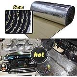 6x mousse isolation de briut et chaleur fibres thermique pour moteur baie capot. Black Bedroom Furniture Sets. Home Design Ideas