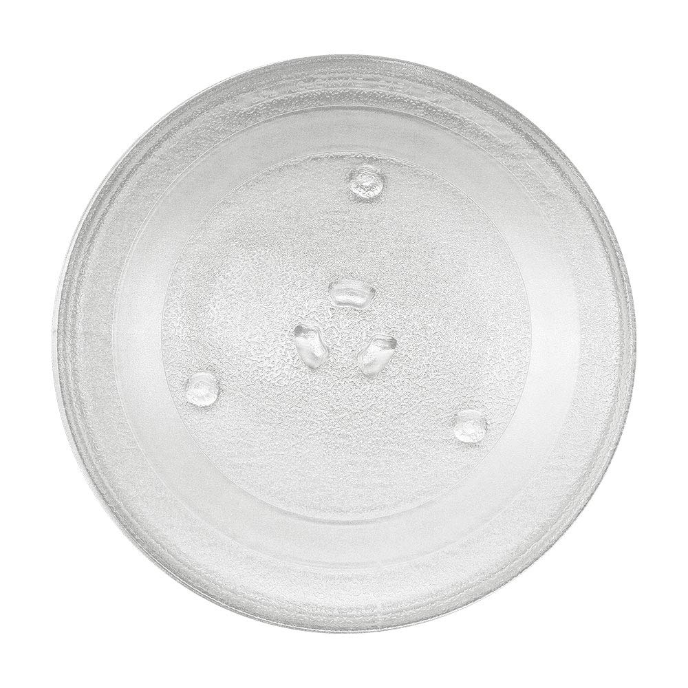 """GENUINE WB49X10097 11-1/4""""inch Microwave Glass Turntable Plate Tray by AMI PARTS Compatible with GE&Samsung-Replaces WB49X10097 PS651544 WB49X10034 WB39X78 WB49X10222 EVM1750"""
