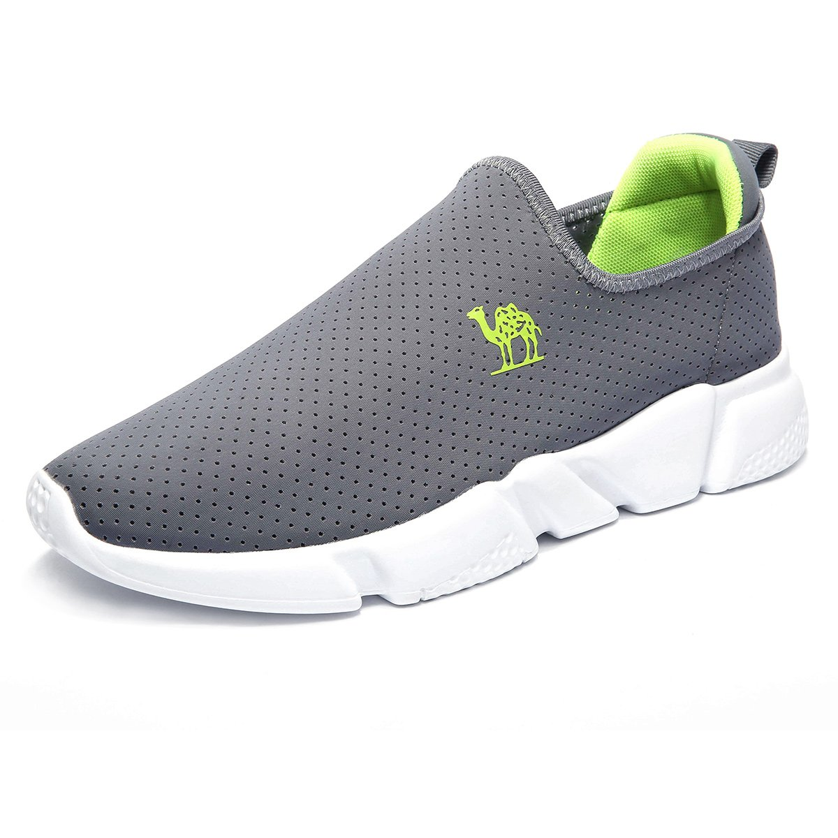 Camel Lightweight Walking Shoes for Men Slip On Sneakers for Running Hiking Casual Sports Fashion Sneakers