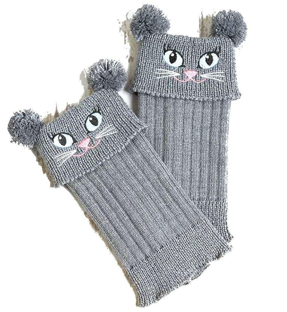 Critter Boot Toppers (Cat)