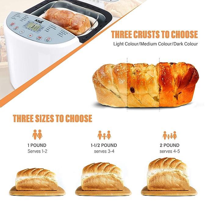 Amazon.com: KBS - Máquina de pan, automática de convección ...