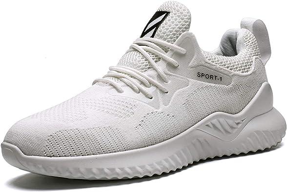 Zapatillas de Deporte Hombre Respirable para Correr Ligeras ...