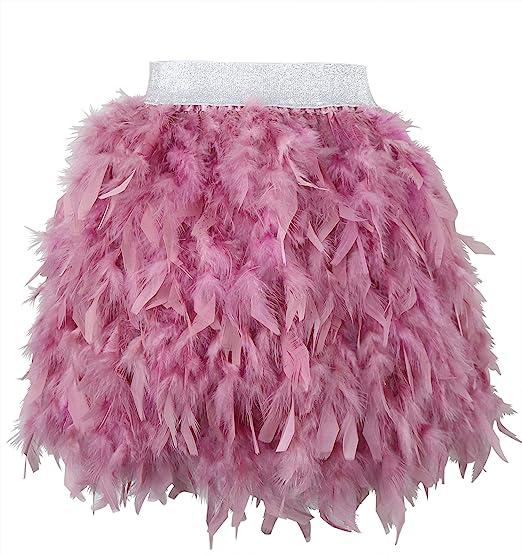 KELAND Faldas de Mujer para Plumas verdaderamente Naturales ...