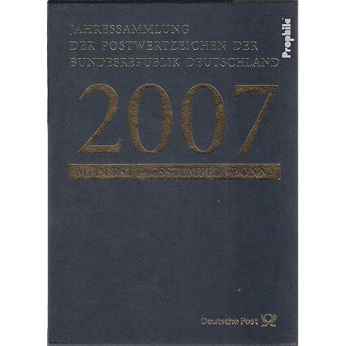 RFA (FR.Allemagne) 2007 officielle Jahressammlung Faltblätter avec premier jour (Timbres pour les collectionneurs)