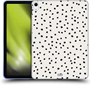 Head Case Designs Officially Licensed KookiePixel Preppy Polka Dots Patterns 2 Soft Gel Case Compatible with Apple iPad Air (2020)