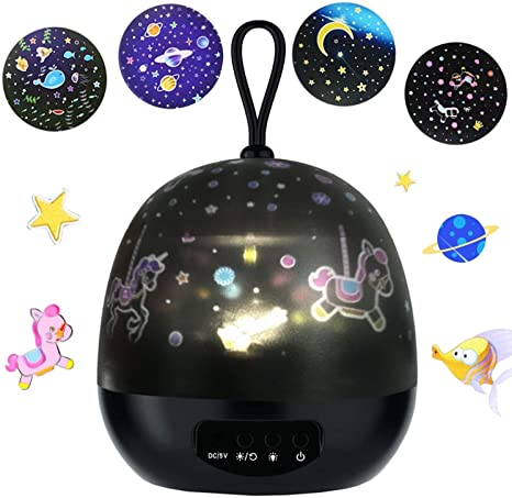 Proyector de Luz Nocturna, JOYYI Lámpara de Estrellas Proyector ...