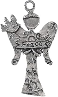 product image for Crosby & Taylor Angel of Peace Pewter Ornament